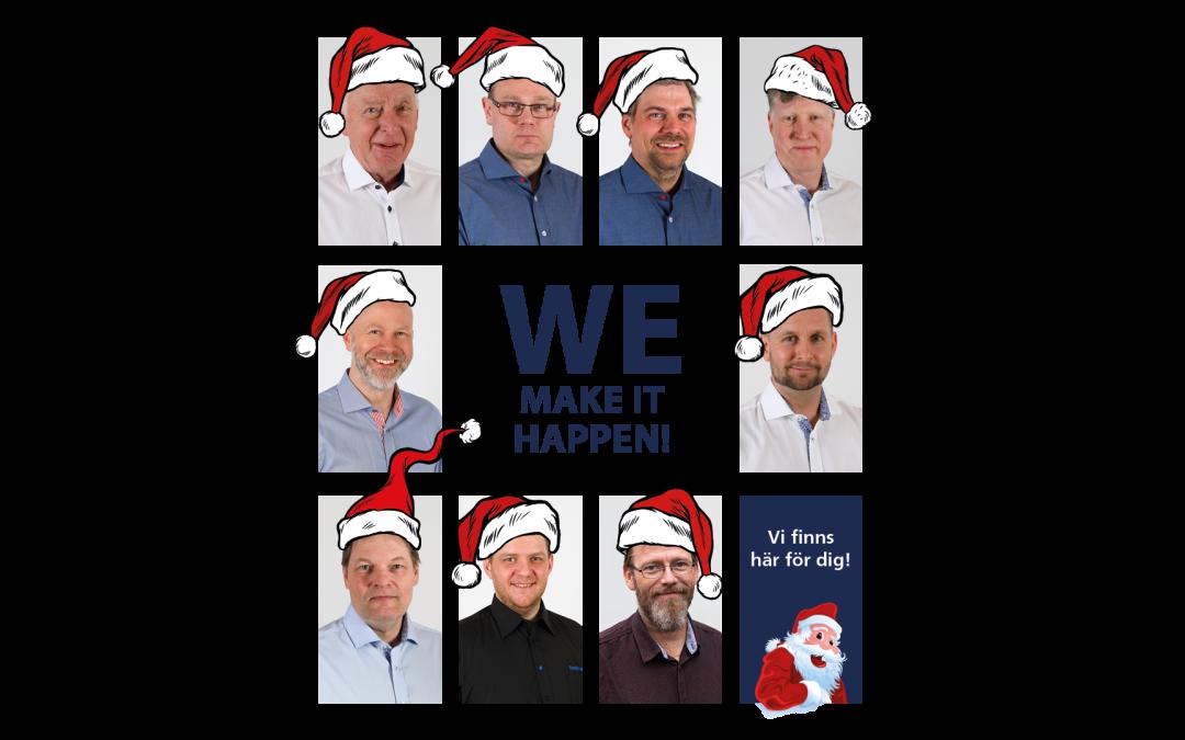 God Jul & Gott Nytt År – Julledigt på kontoret!